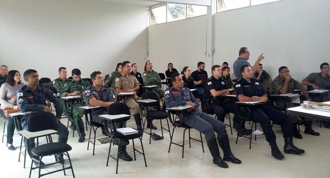 Evento teve a presença da Guarda Municipal, PM, Epcar, Corpo de Bombeiros e IEF
