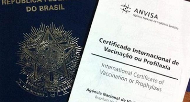 Resultado de imagem para carteira internacional de vacinação
